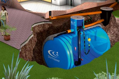 Stormsaver rainwater harvesting system