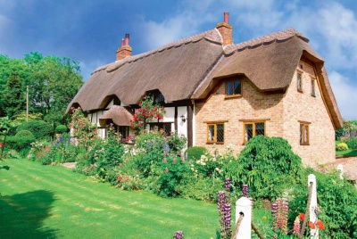 A restored cottage in Buckinghamshire