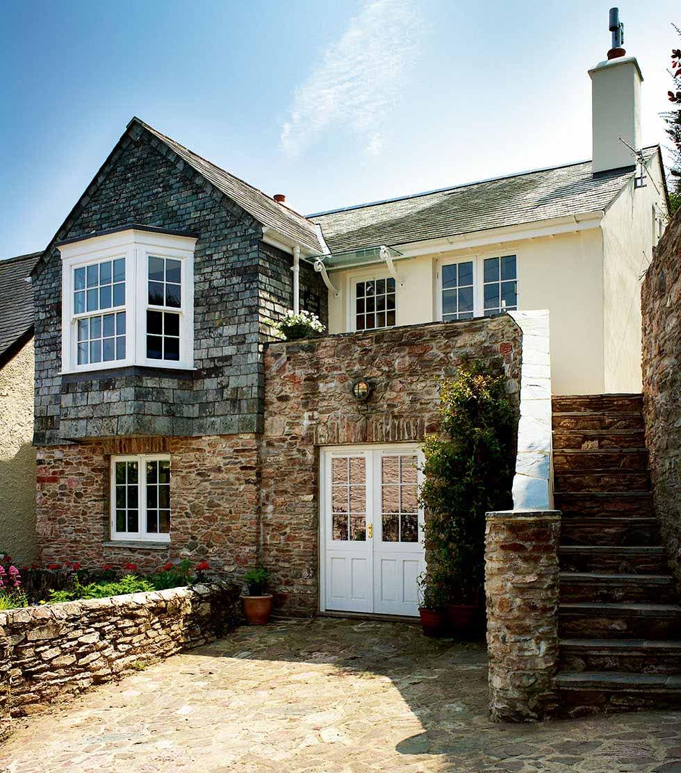 A self build cottage in Devon