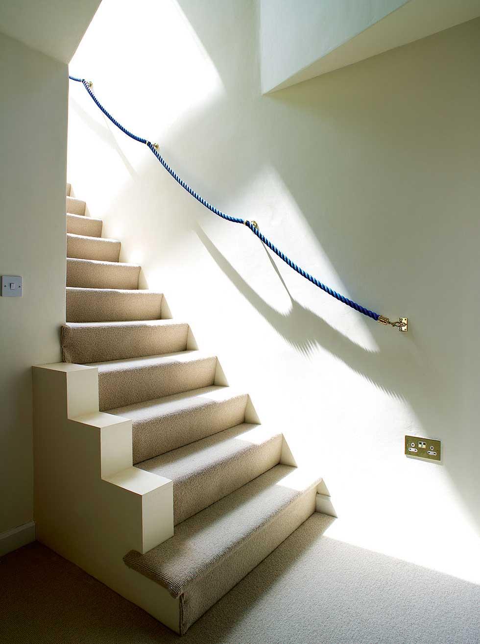 The white staircase