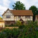 An oak frame farmhouse