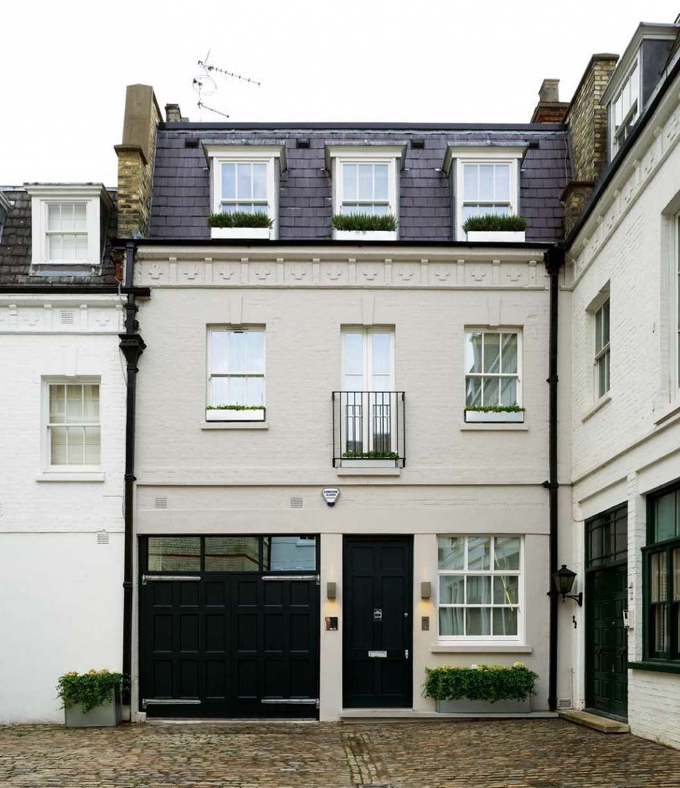 A renovated Belgravia townhouse