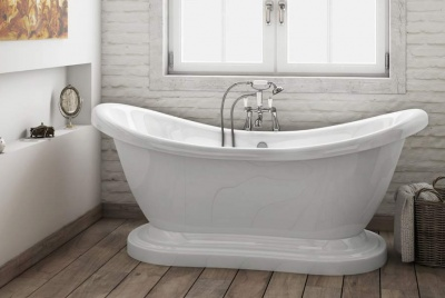 victorian plumbing bath