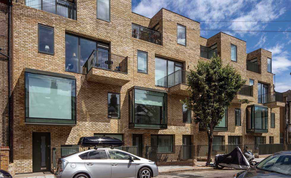 Brick Built Flats In London Custom Build
