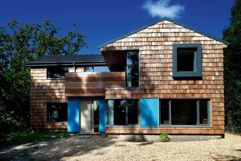 A Cedar Clad Home Homebuilding Amp Renovating