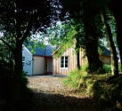 A single storey timber frame home built in a National Park