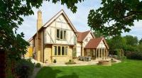 An oak frame country house
