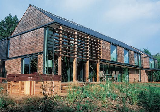 An example of organic building form