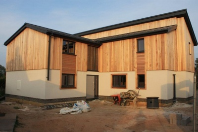 "CDI o New House Traditional Build with Lewis Deck: ""Self-build house with underfloor heating and wet-rooms upstairs"