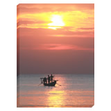 This wonderful image on canvas provides a superb finishing touch to any room.