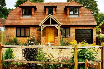 A charming custom build brick and blockwork family cottage