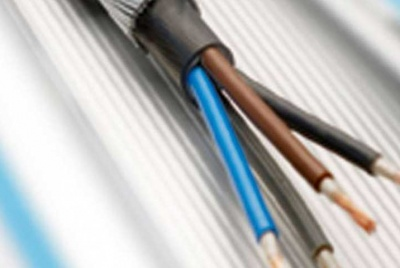 Exposed electric cable