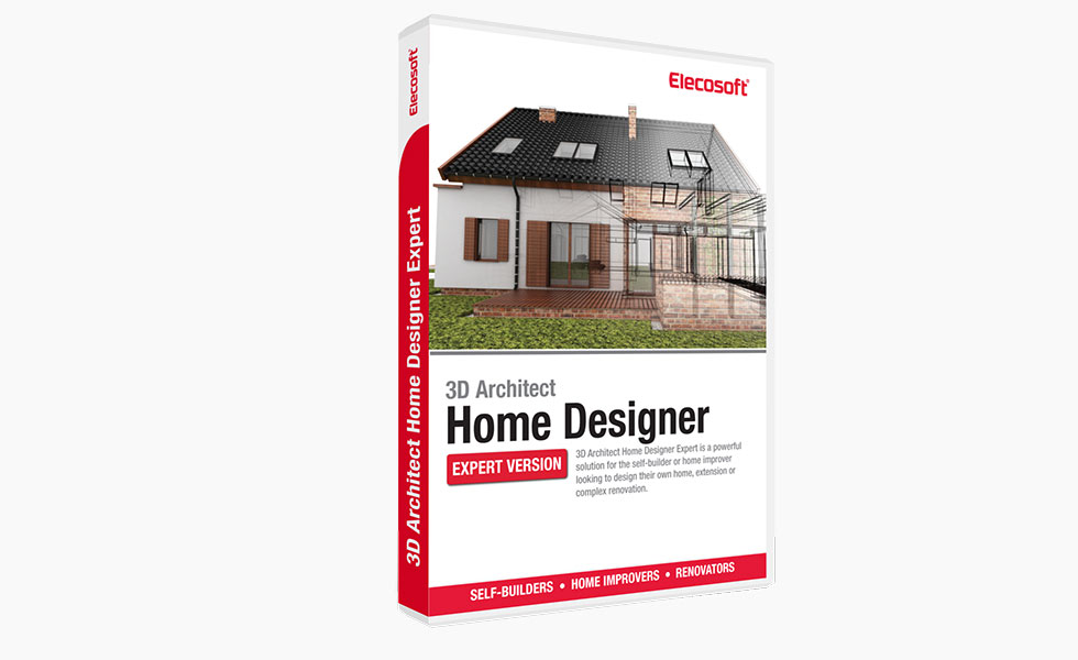elecosoft 3D Architect Home Designer Expert Pack