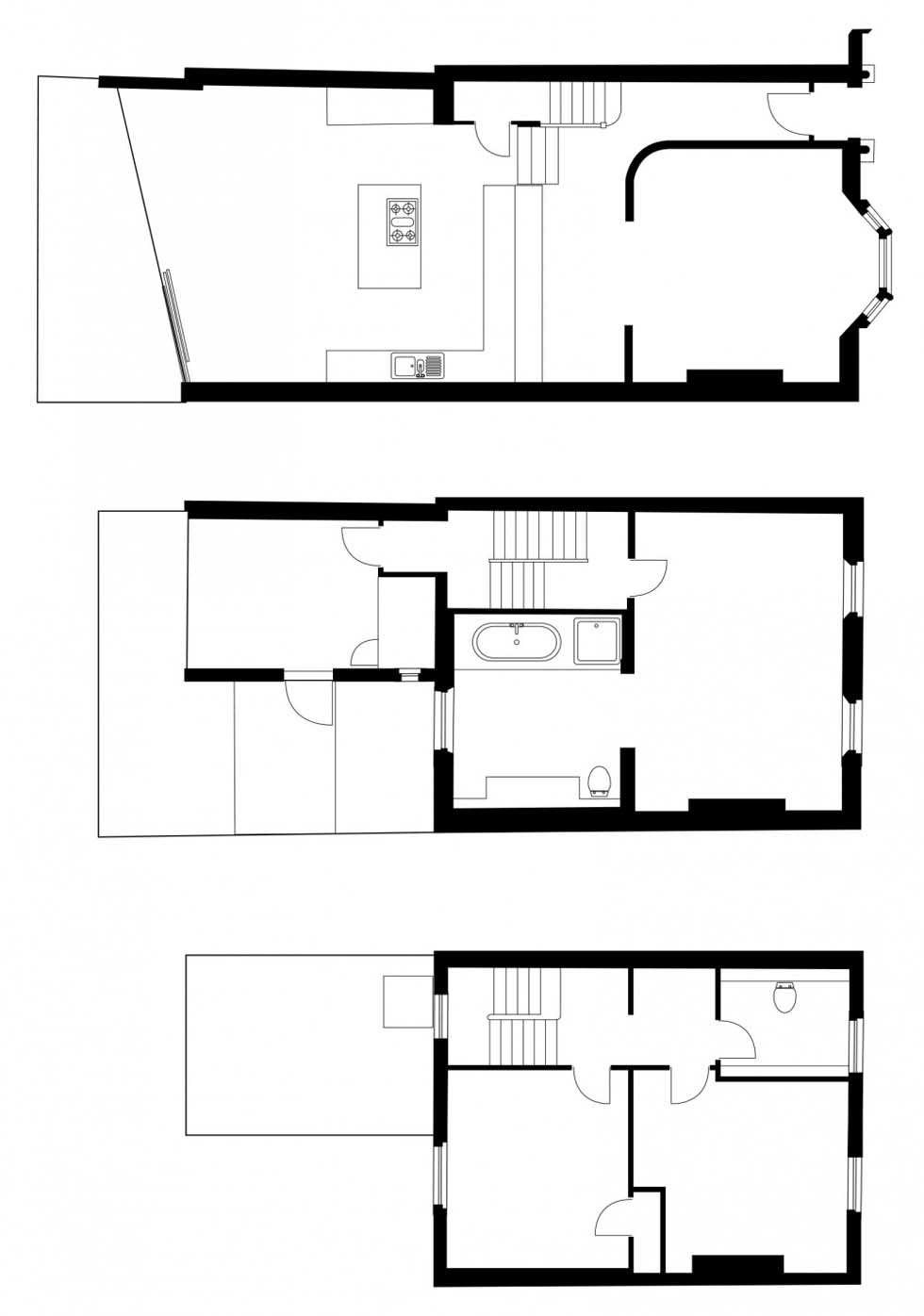 Recycled House Floorplans