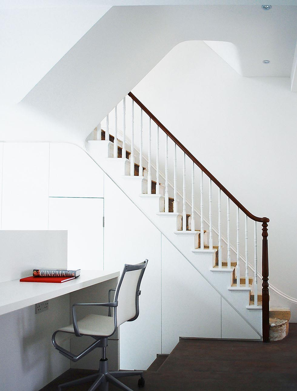 Recycled House Staircase Image ©RDA
