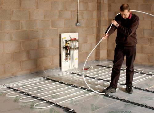 How to install wet underfloor heating homebuilding renovating laying underfloor heating solutioingenieria