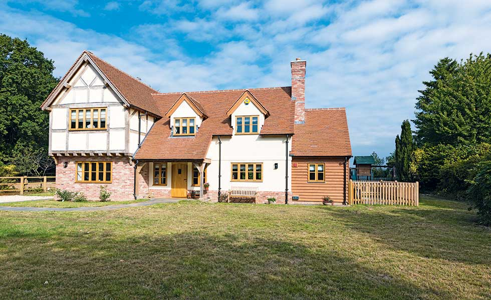 Characterful oak-framed home in the New Forest