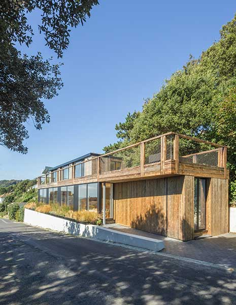 Remodelled 1970s timber clad house