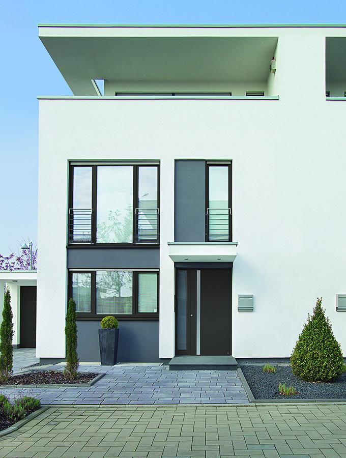 modern external door