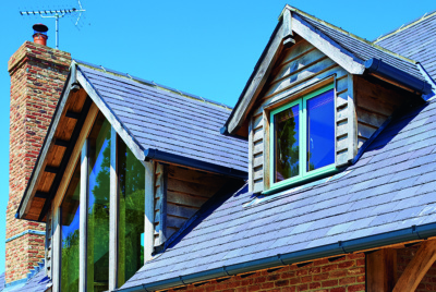 dormer windows on cottage style house