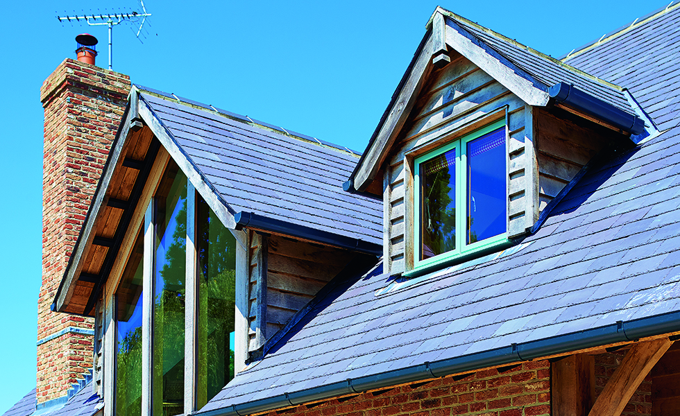 dormer windows on cottage style house