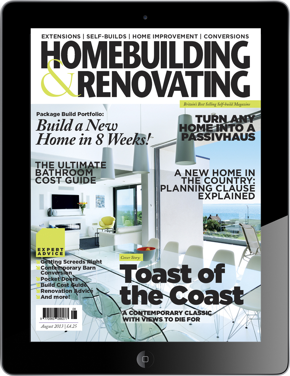 Homebuilding & Renovating on iPad
