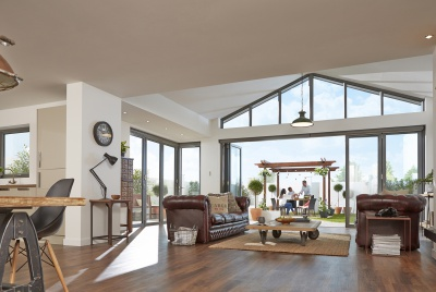 Folding sliding doors from Origin