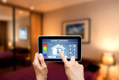 smart home technology tablet