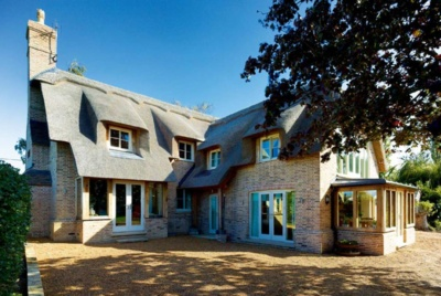 Charming thatched cottage self build