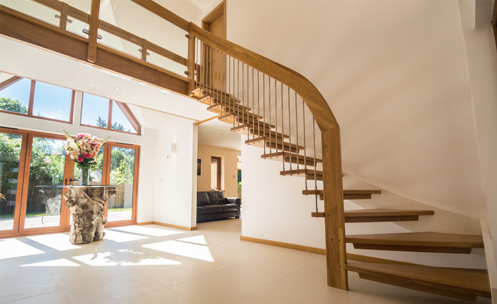 Complete Stair System Oak Staircase