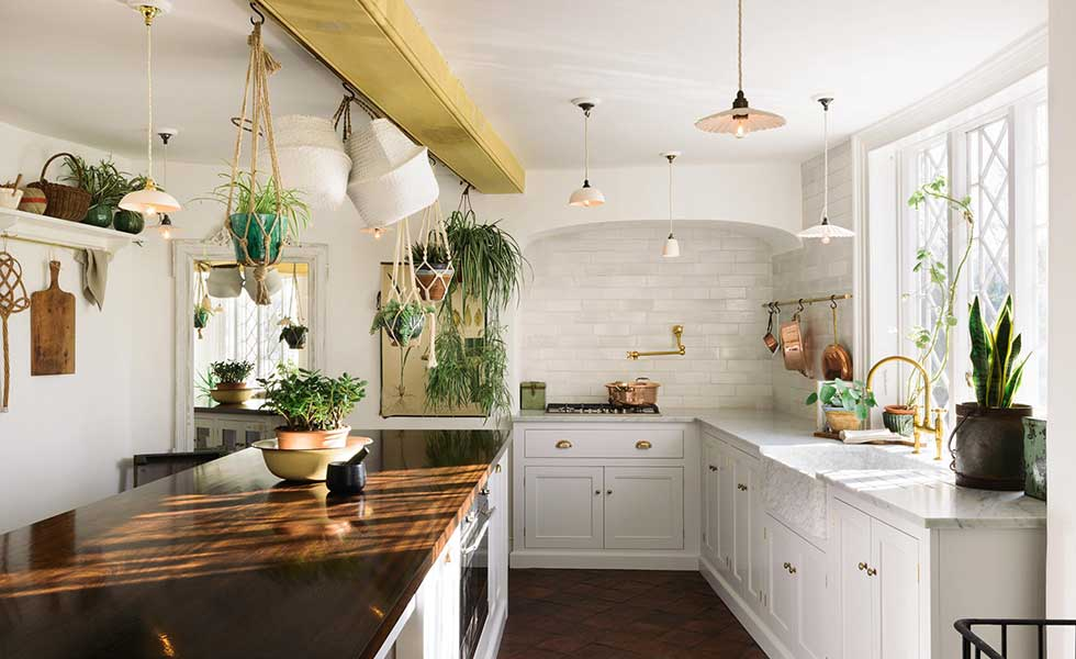Classic white farmhouse kitchen