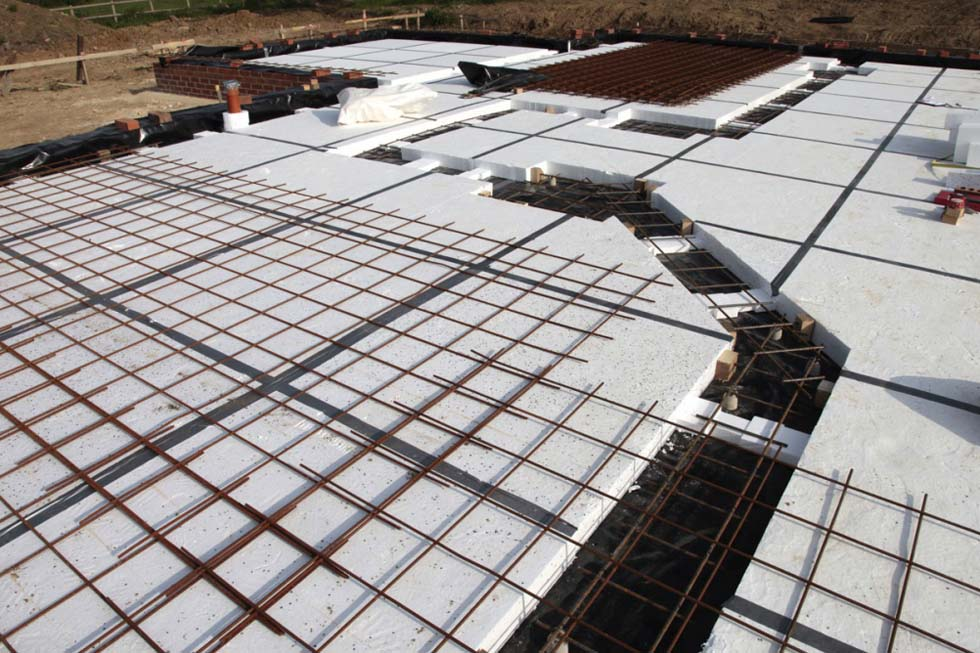 Steel Concrete Slab : Passive slab completed is this the first in uk