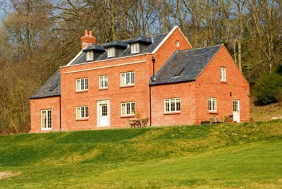Photograph of a refined country house new build