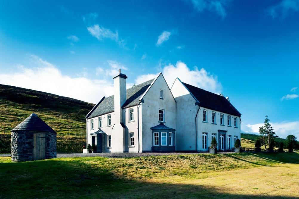 exterior view of eco home