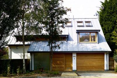 exterior view of eco build