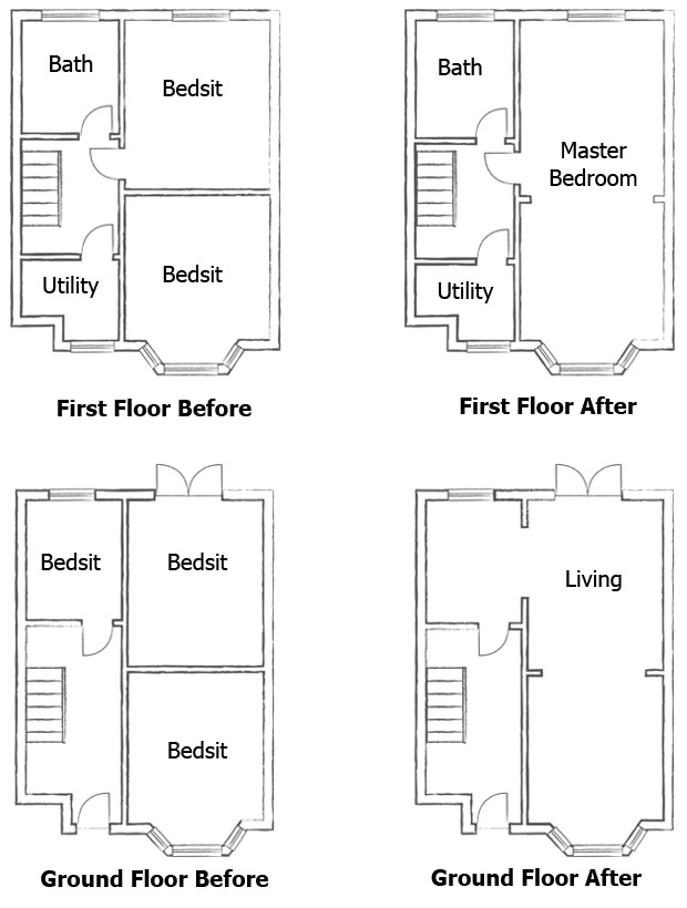 Opening Up Internal Spaces | Homebuilding & Renovating