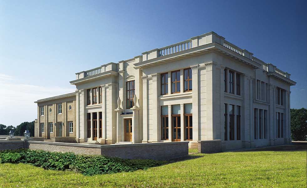 ADAM architecture palladian style self build built under paragraph 55 in the country