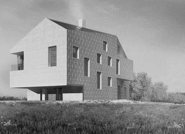 Mines Farm, 6A Architects. Cambridgeshire