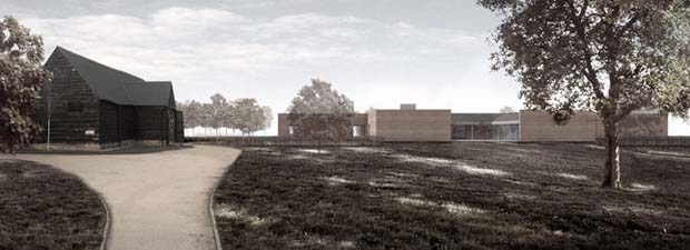 Ottmor Farm, by David Chipperfield. Oxfordshire