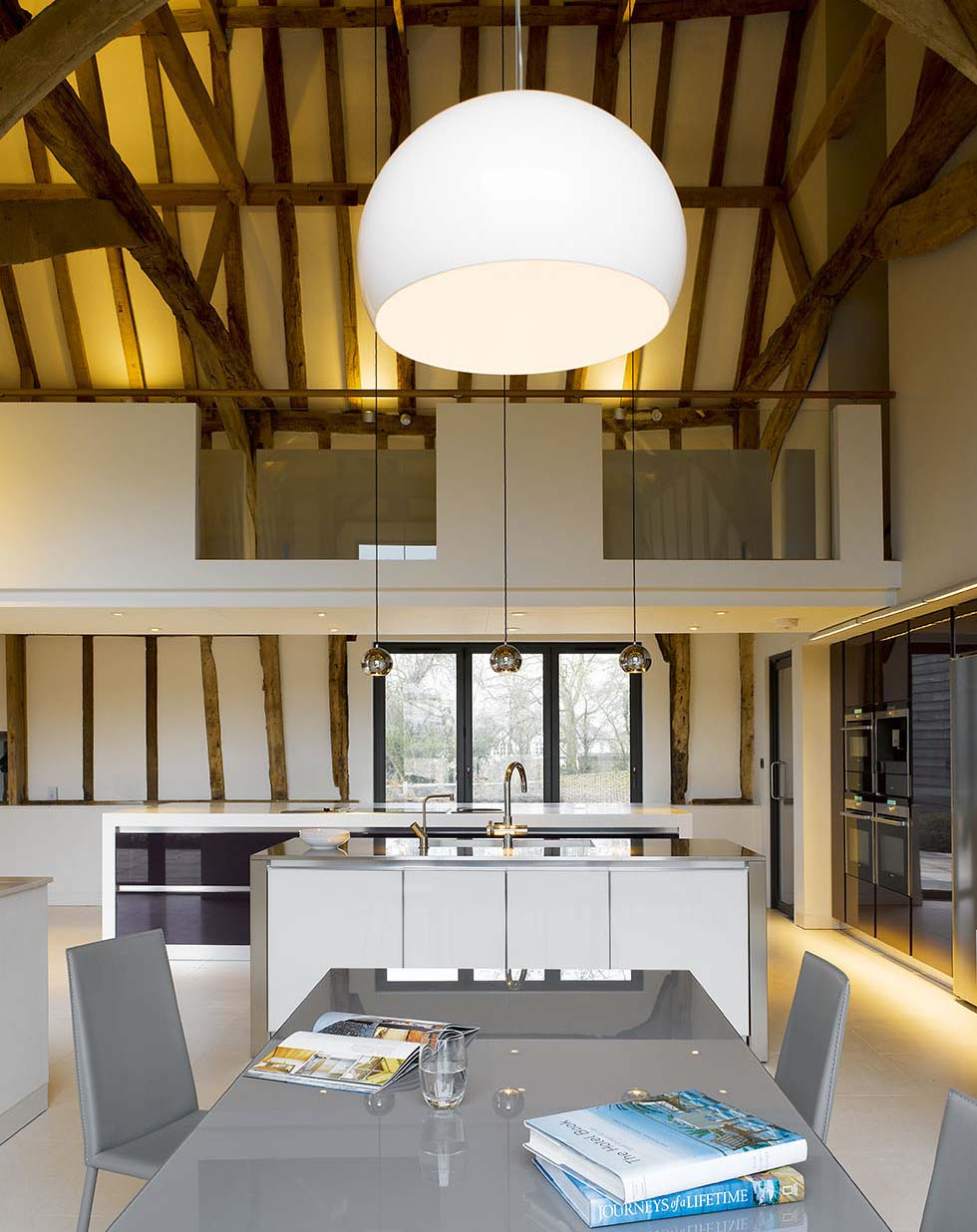 Chantry Barn Kitchen Dining Area