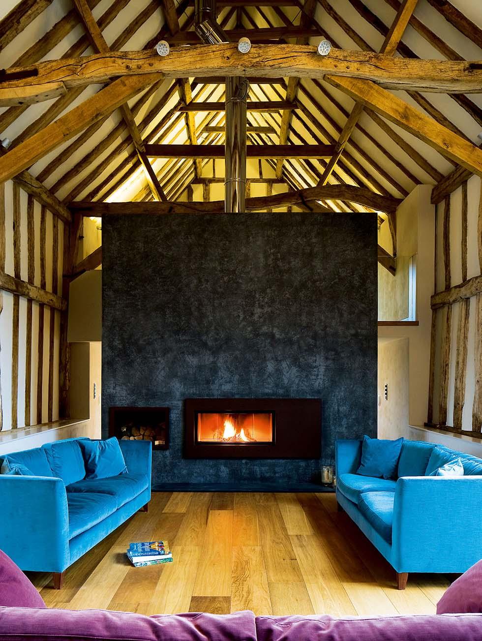 Chantry Barn Living Room