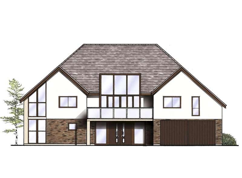 Glazed Upside Down House Homebuilding Renovating