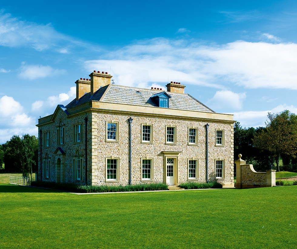 A modern stately home homebuilding renovating for New build georgian style houses