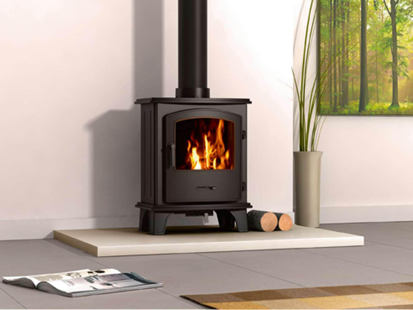 How To Replace A Gas Fire With A Woodburner Homebuilding