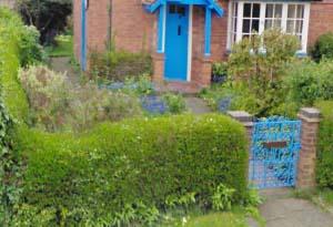 Before of Natasha and Bill's front garden