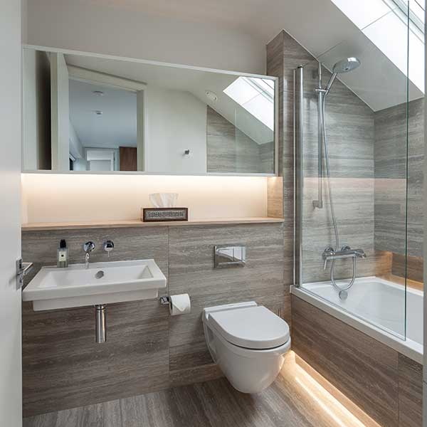 Small bathroom guide homebuilding renovating for Bathroom planning guide