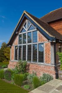 Fixed casement windows from Architectural Bronze Casements