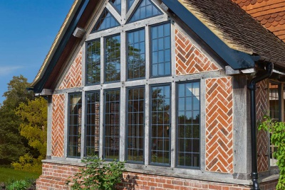 Fixed casement windows from Architectural Bronze Casements