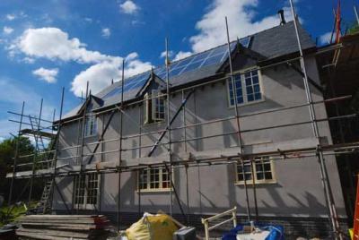 Installing solar PVT
