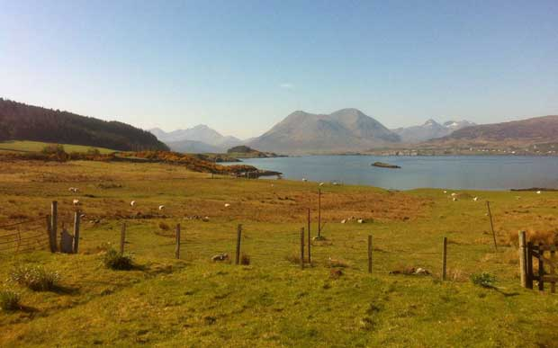 Scenery on the Isle of Raasay